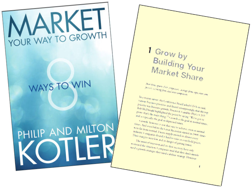 Market Your Way to Growth Book